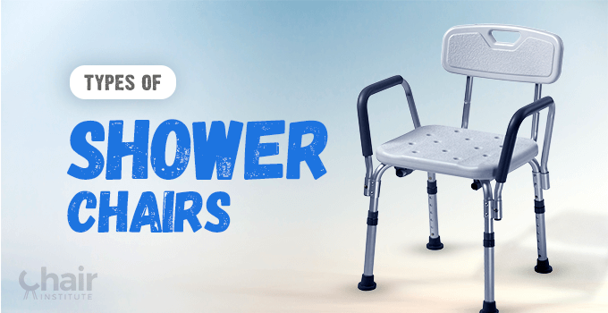 Types of Shower Chairs Banner
