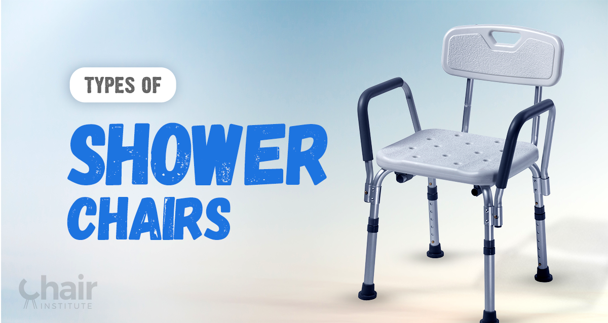 A Guide To The Different Types Of Shower Chairs Available