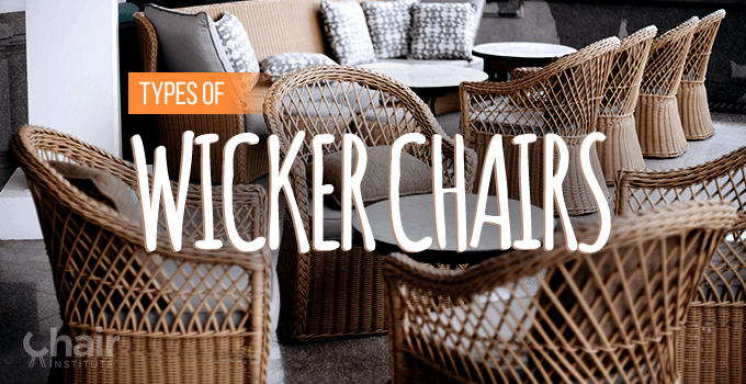 Types of Wicker Chairs Banner