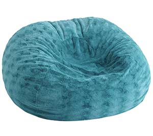 An Image of Polystyrene Bed Bean Bag Chair for Bean Bag Chair Types