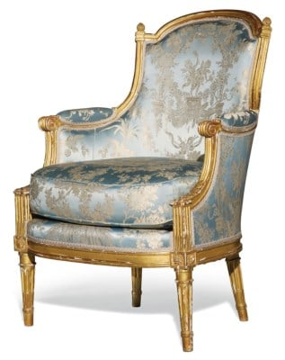 An Image of Bergère En Cabriolet Louis XVI of Bergère Chair Reviews