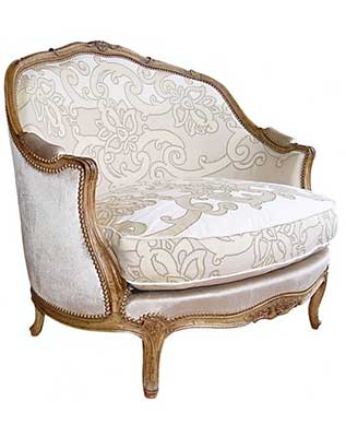 An Image of Bergère Marquise Gondole LXV of Bergère Chair Reviews