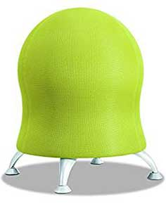 An Image of ​Stationary Ball Chairs of Ball Chairs and Exercise Balls Reviews