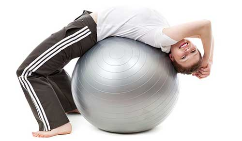 An Image of Ball Exercise Activity of Ball Chairs and Exercise Balls Reviews