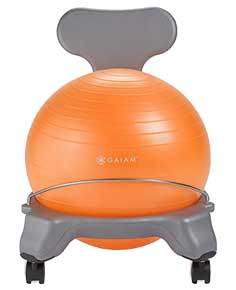 An Image of ​​Classic Ball Chairs of Ball Chairs and Exercise Balls Reviews