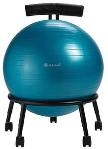 An Image of Giam Ball Chair for Types of Ball Chairs and Exercise Balls Reviews