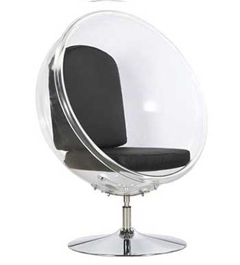 An Image Sample of ​Bubble Chair with Pedestal for Bubble Chairs Reviews