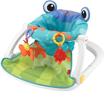An Image of Fisher-Price Sit-Me-Up Floor Seat Chair