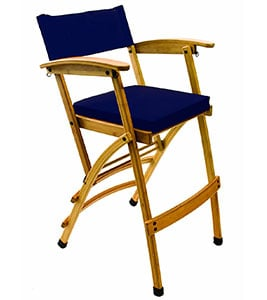 A Sample Image of Hollywood Chairs by Totally Bamboo 27 Elm Director Chair