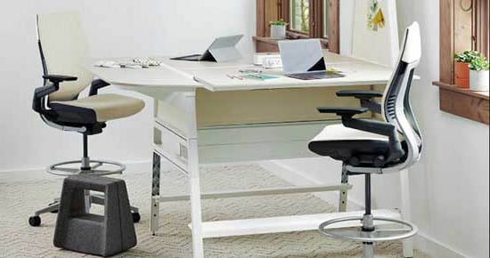 An Image Sample of Office Drafting Chair