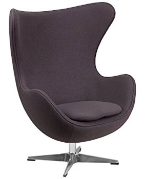 An Image Sample of Vela Retro Lounge Egg Chair for Egg Chair Reviews