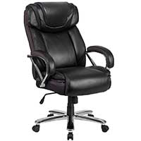 An Image Of Wide Executive Swivel Chair Flash Furniture Hercules Series