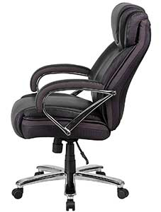 A Left Side View Image Of Flash Furniture Hercules Series And Tall Chair