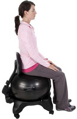 isokinetics balance exercise ball chair review 2020