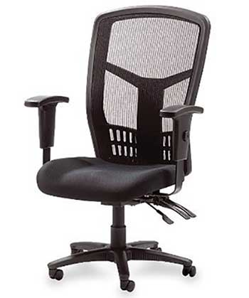 Incroyable Lorell Executive Mesh High Back Chair