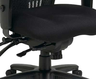 An Image Sample Of Office Star High Back Managers Chair Seat Height Adjustment Mechanism
