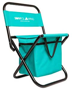 An Image Sample of Savvy Glamping Mini Portable Folding Chair