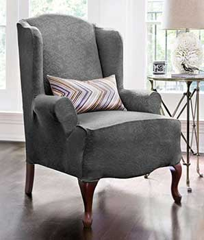 An Image Sample of Wing Chairs: One