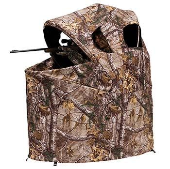 An image of Ameristep Tent Chair Easy Fold Over Ground Blind