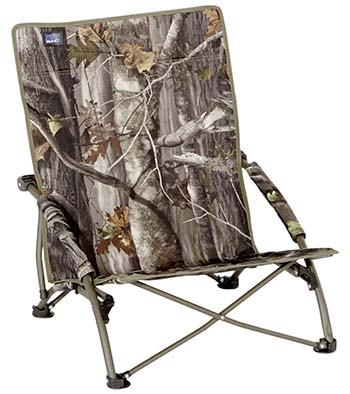 An Image of Mac Sports Folding Seat Turkey Camo