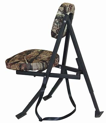 A side shot of Redneck Portable Hunting Chair