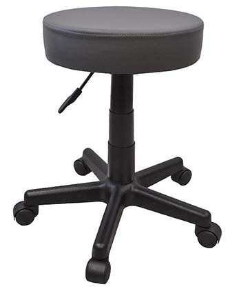 An image of Boss 360 Tattoo Stool in gray color