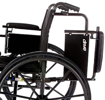 A side view image of Drive Medical Cruiser X4 wheelchair.