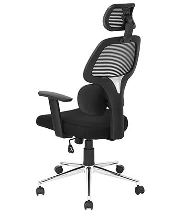 An image of Coavas High-Back Mesh office chair from the back.