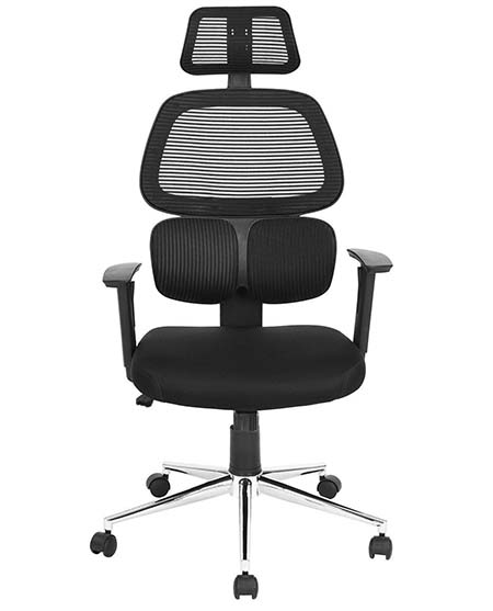 An image of Coavas High-Back Mesh office chair in black.