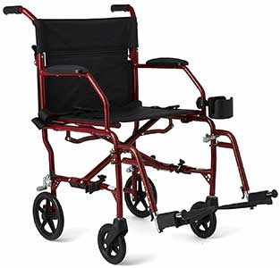 An Image Sample of Medline Transport Chair for Difference Between Wheelchair and Transport Chair