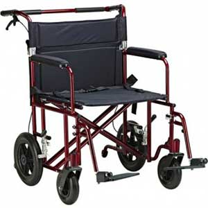 An Image Sample of Bariatric Transport Chair for Difference Between Wheelchair and Transport Chair