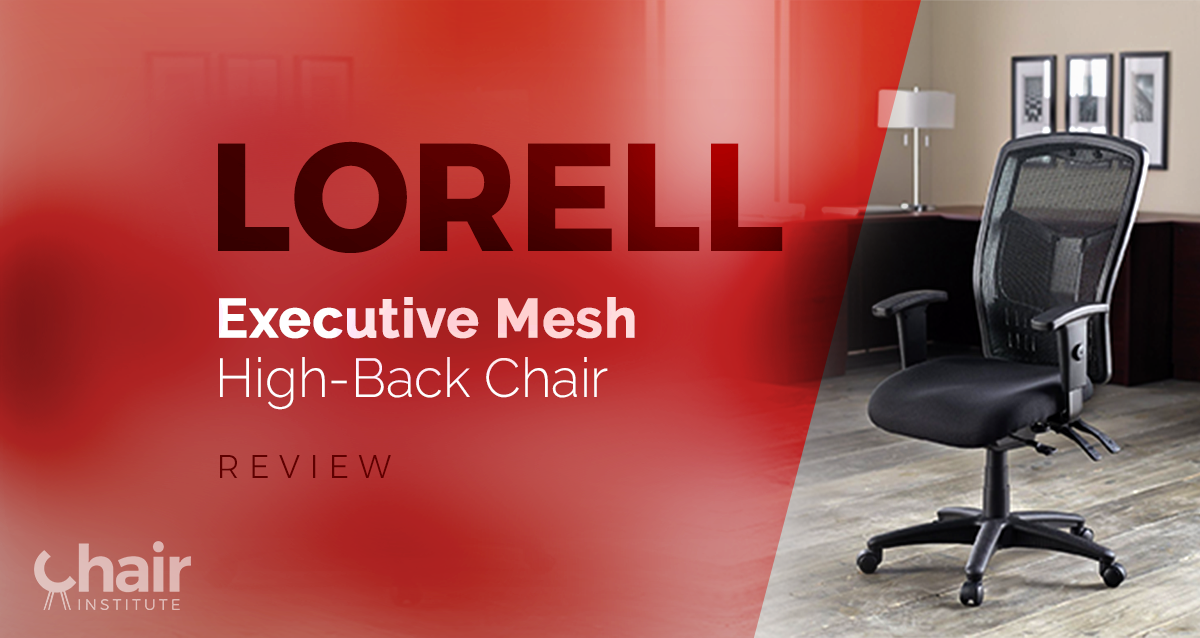 lorell executive mesh high back chair review august 2018