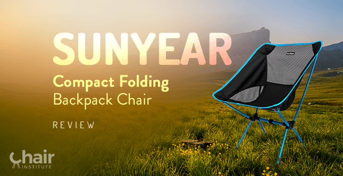 Sunyear Compact Folding Backpack Chair Review December 2019