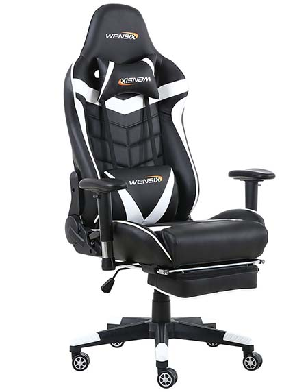 Wensix Gaming High Back Computer Chair Review 2019