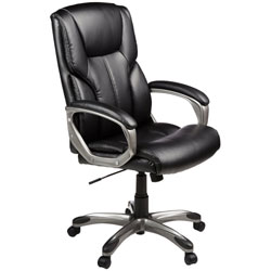 An Image Sample of High-Back Executive Chair: Black