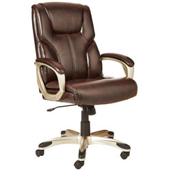 An Image Sample of High-Back Executive Chair: Brown