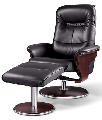 A Main View Image of Best Lounge Chair for Posture: Milano Recliner, by Artiva USA