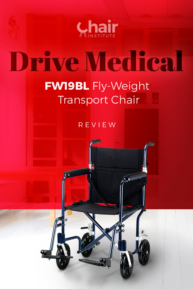 Drive Medical Fw19bl Fly Weight Transport Chair Review