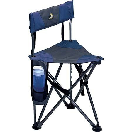 An image of GCI Outdoor Quik-E-Seat chair in midnight color