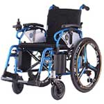 An Image Sample of Electric Wheelchair or Mobility Scooter