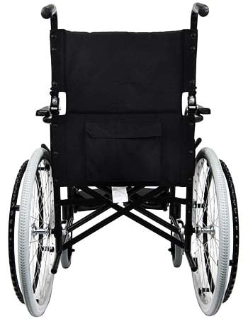 An image showing storage pocket of Karman Ultralight Compact Wheelchair