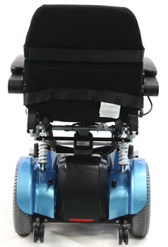 An Image Sample of Back View of Karman XO-202 Electric (Standing) Wheelchair