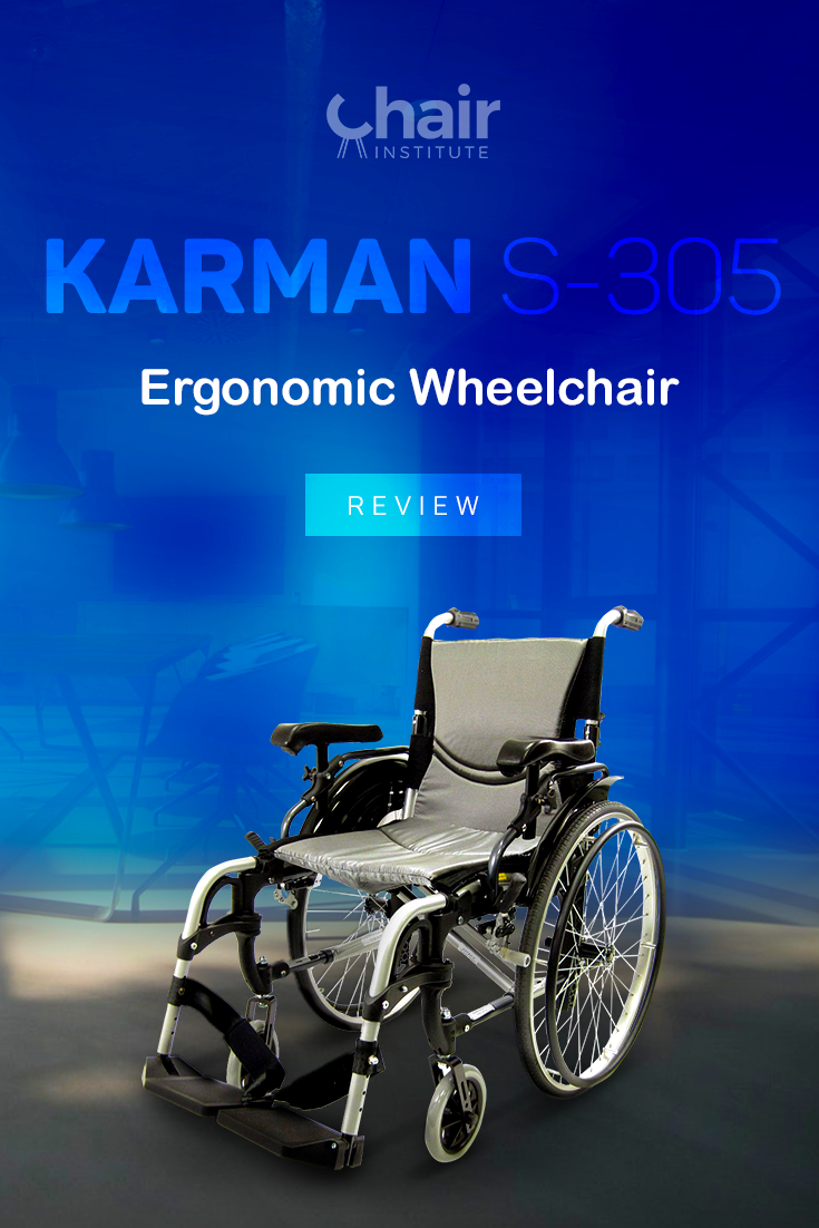 Check out our in-depth review of the Karman S-305 ergonomic wheelchair.  This model sets the standard where manual wheelchairs are concerned! @KarmanHC