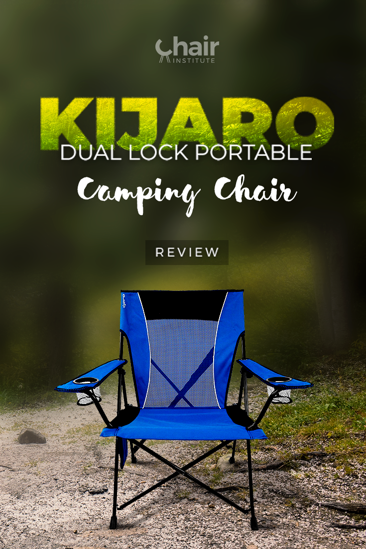 Comfort and portability combine in our review of the @Kijaro Dual Lock Portable Camping Chair! Come to find out why this option is among our top backpacking chairs!