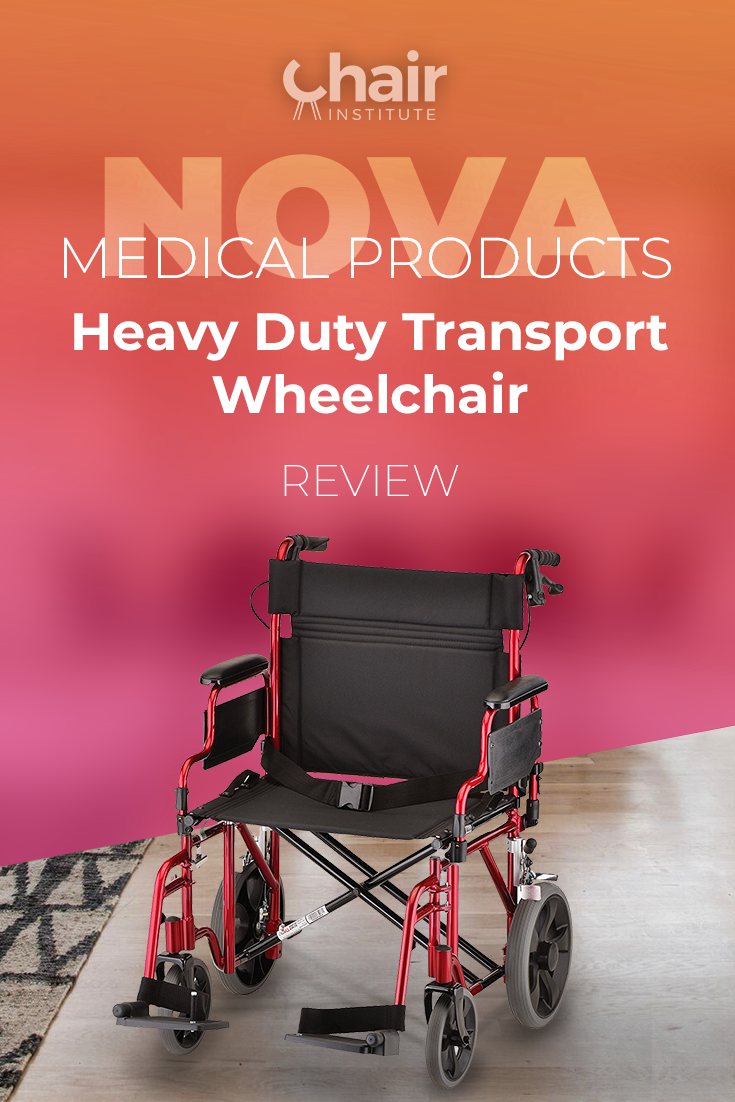Check out our in-depth review of the NOVA Medical Products Transport Wheelchair.  Rugged, durable, and it may be the one you've been looking for. @NOVAMedicalProd