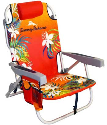 An Image Sample of Tommy Bahama Backpack Cooler Chair for Product Images & Rating