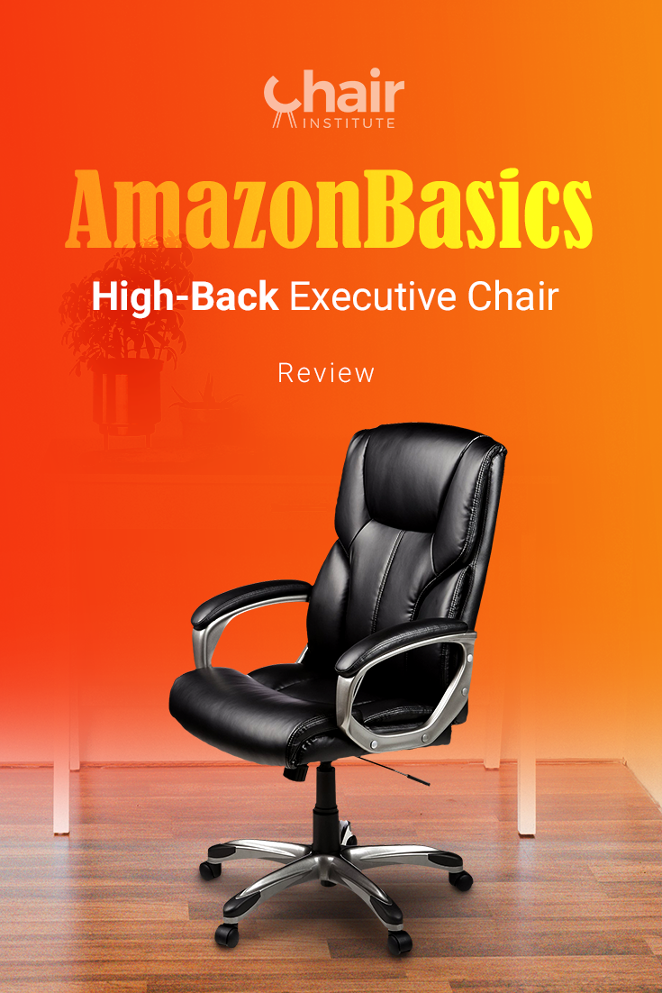 Are you in the market for an affordable office chair that still offers ergonomic features? Check out our AmazonBasics Executive Chair review! @amazon
