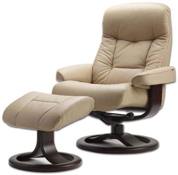 215 Large Muldal Recliner, by Fjords, winner for the best lounge chair for posture correction
