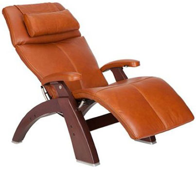 A Left View Image of Best Lounge Chair for Posture: Perfect Chair PC-500 Silhouette, by Human Touch