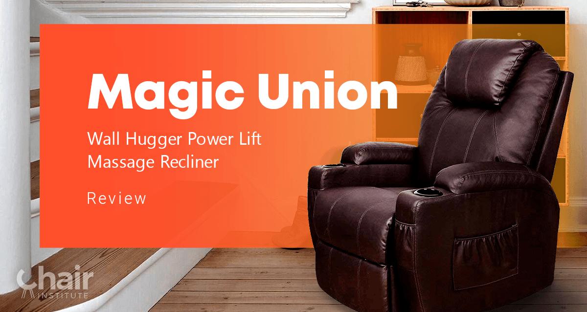 Magic Union Wall Hugger Power Lift Massage Recliner Review